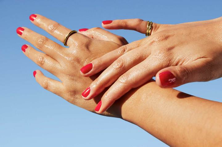 This One Product Hydrates, Brightens, and Sanitizes Hands